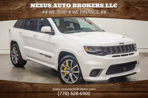 2018 Jeep Grand Cherokee for sale at Nexus Auto Brokers LLC in Marietta GA