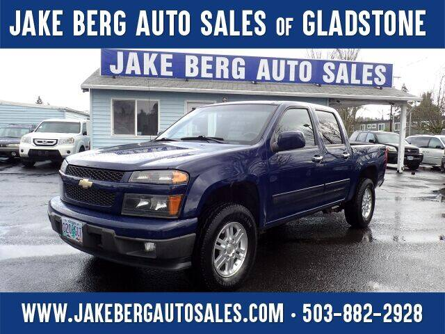 2012 Chevrolet Colorado for sale at Jake Berg Auto Sales in Gladstone OR