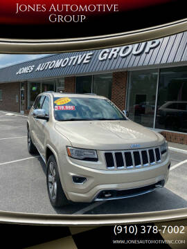 2014 Jeep Grand Cherokee for sale at Jones Automotive Group in Jacksonville NC