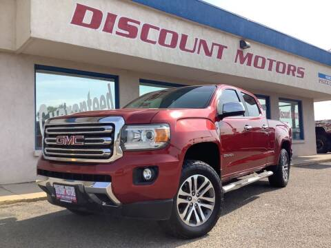 2016 GMC Canyon for sale at Discount Motors in Pueblo CO