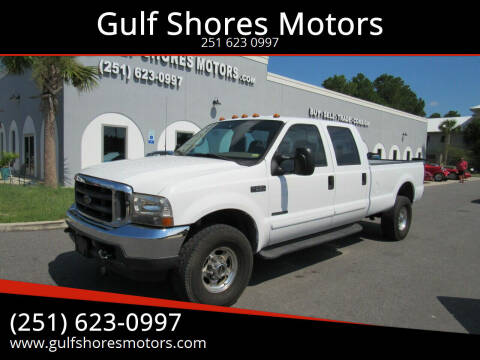 2002 Ford F-350 Super Duty for sale at Gulf Shores Motors in Gulf Shores AL