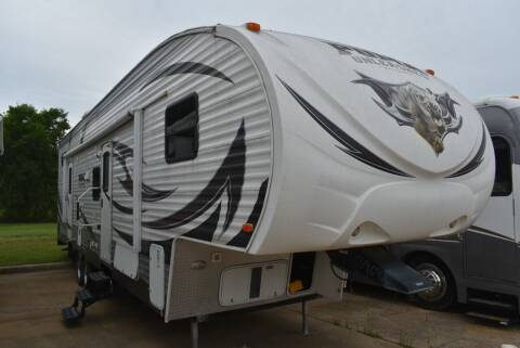 2012 Forest River Puma Unleashed 356QLB for sale at Buy Here Pay Here RV in Burleson TX