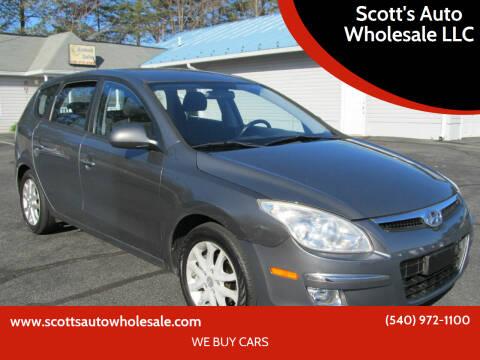 2009 Hyundai Elantra for sale at Scott's Auto Wholesale LLC in Locust Grove VA