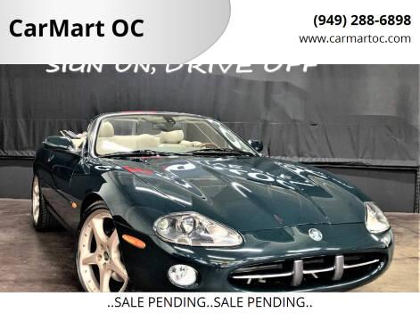 2003 Jaguar XK-Series for sale at CarMart OC in Costa Mesa CA
