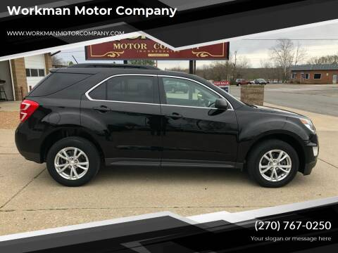 2017 Chevrolet Equinox for sale at Workman Motor Company in Murray KY