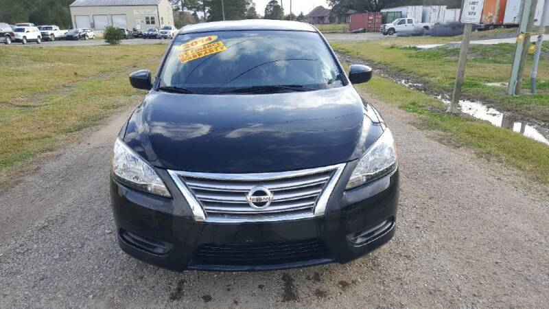 2014 Nissan Sentra for sale at Auto Guarantee, LLC in Eunice LA