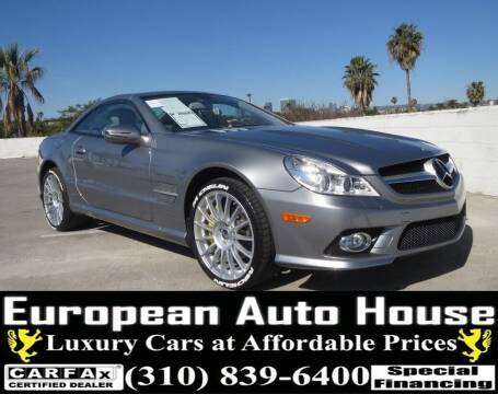 2011 Mercedes-Benz SL-Class for sale at European Auto House in Los Angeles CA