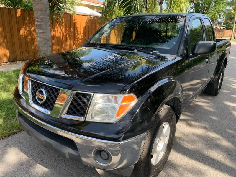 2007 Nissan Frontier for sale at FINANCIAL CLAIMS & SERVICING INC in Hollywood FL