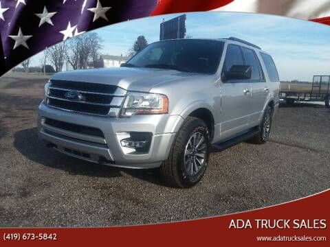 2015 Ford Expedition for sale at Ada Truck Sales in Ada OH