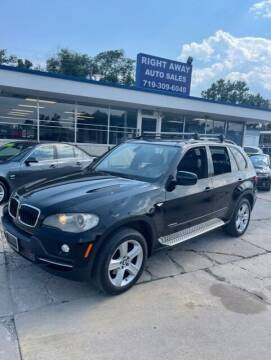 2009 BMW X5 for sale at Right Away Auto Sales in Colorado Springs CO