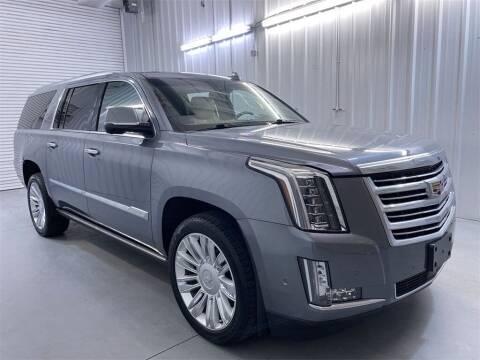 2018 Cadillac Escalade ESV for sale at JOE BULLARD USED CARS in Mobile AL