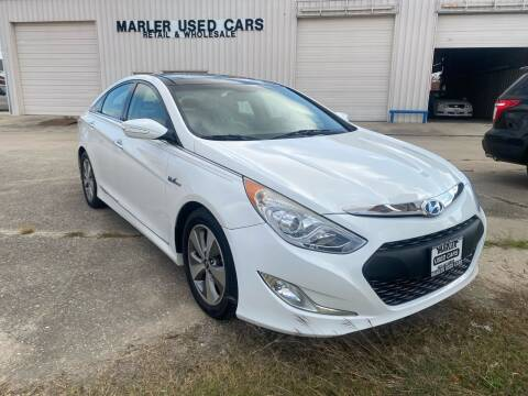 2012 Hyundai Sonata Hybrid for sale at MARLER USED CARS in Gainesville TX