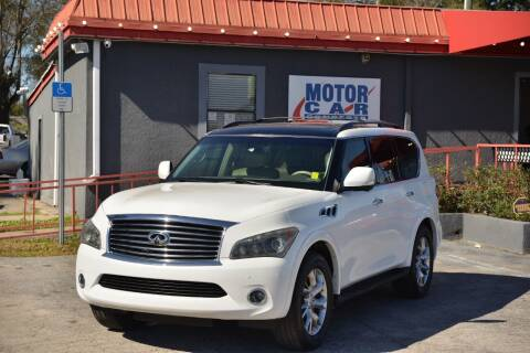 2012 Infiniti QX56 for sale at Motor Car Concepts II - Kirkman Location in Orlando FL