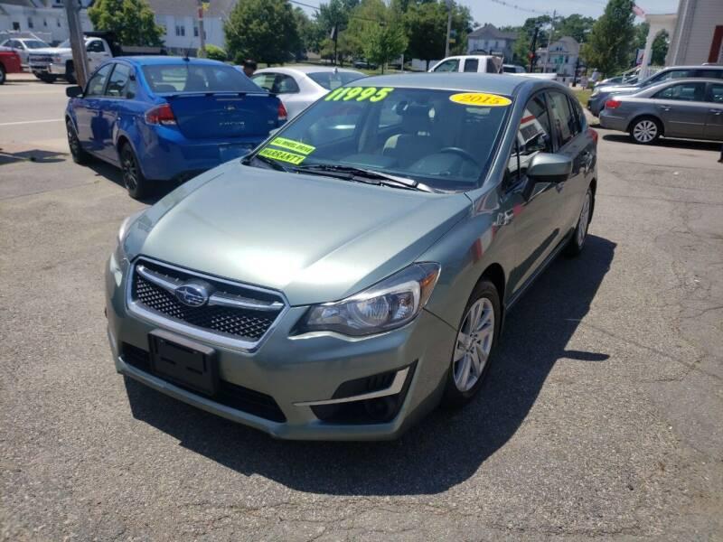2015 Subaru Impreza for sale at TC Auto Repair and Sales Inc in Abington MA