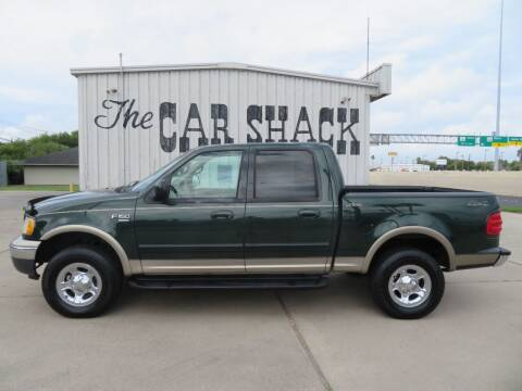 2001 Ford F-150 for sale at The Car Shack in Corpus Christi TX