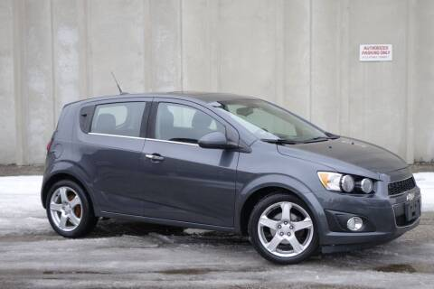 2013 Chevrolet Sonic for sale at Albo Auto in Palatine IL