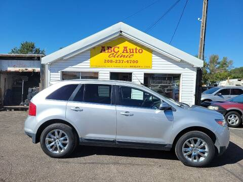 2013 Ford Edge for sale at ABC AUTO CLINIC in Chubbuck ID