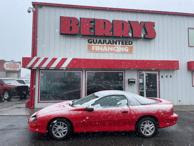 1993 Chevrolet Camaro for sale at Berry's Cherries Auto in Billings MT