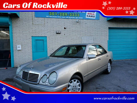 1997 Mercedes-Benz E-Class for sale at Cars Of Rockville in Rockville MD