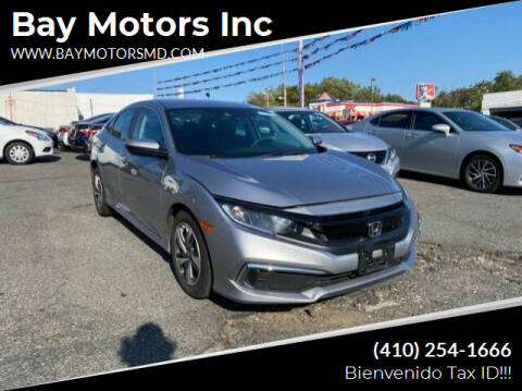 2019 Honda Civic for sale at Bay Motors Inc in Baltimore MD