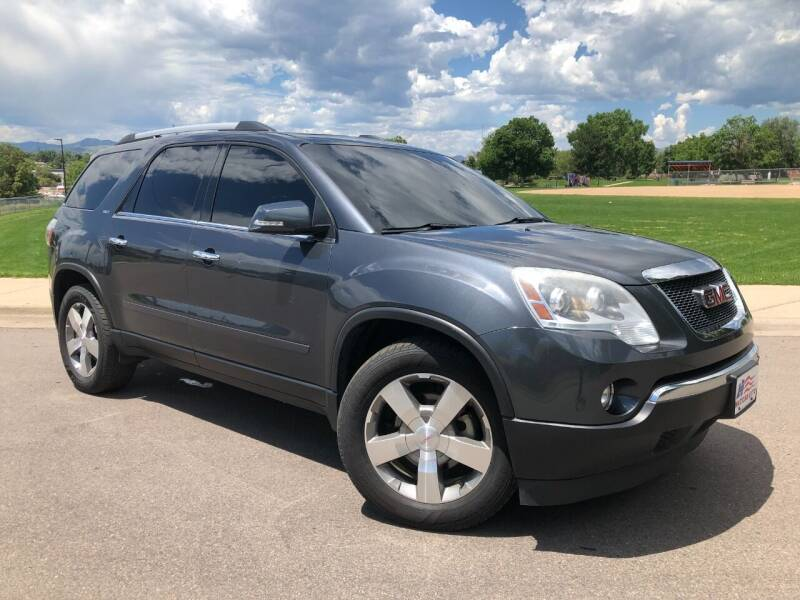 2012 GMC Acadia for sale at Nations Auto in Lakewood CO