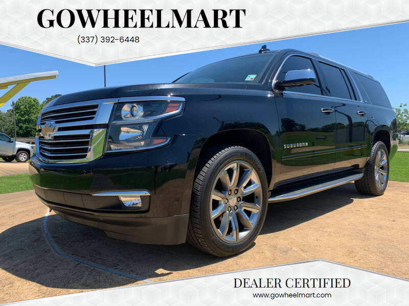 2016 Chevrolet Suburban for sale at GOWHEELMART in Leesville LA
