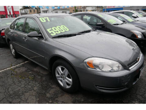 2007 Chevrolet Impala for sale at M & R Auto Sales INC. in North Plainfield NJ