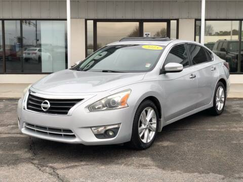 2015 Nissan Altima for sale at Nelson Car Country in Bixby OK