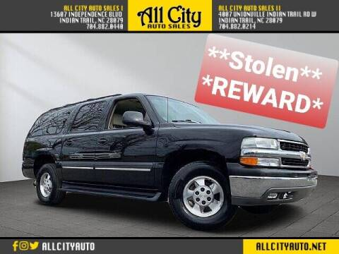 2001 Chevrolet Suburban for sale at All City Auto Sales II in Indian Trail NC