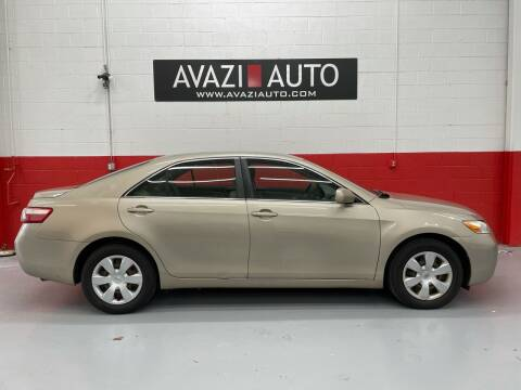 2007 Toyota Camry for sale at AVAZI AUTO GROUP LLC in Gaithersburg MD