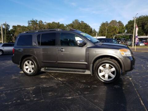 2008 Nissan Armada for sale at BSS AUTO SALES INC in Eustis FL