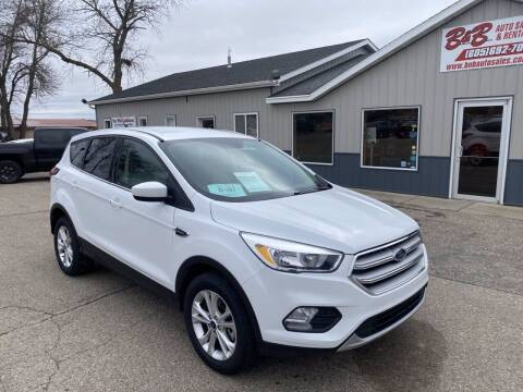 2019 Ford Escape for sale at B & B Auto Sales in Brookings SD