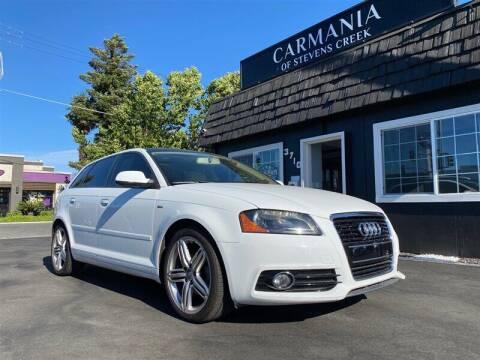 2011 Audi A3 for sale at Carmania of Stevens Creek in San Jose CA