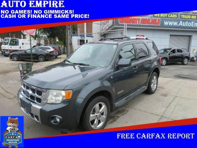2008 Ford Escape for sale at Auto Empire in Brooklyn NY