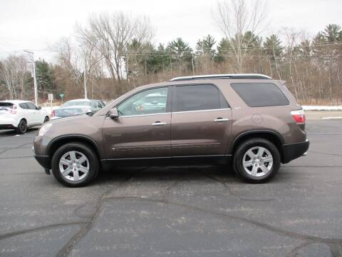 2009 GMC Acadia for sale at Plainfield Auto Sales, LLC in Plainfield WI