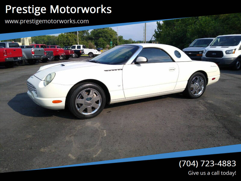 2003 Ford Thunderbird for sale at Prestige Motorworks in Concord NC