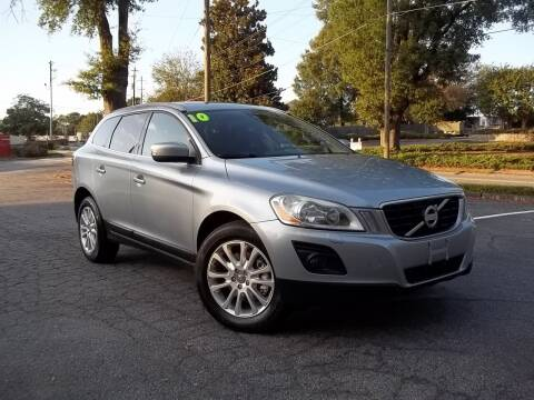 2010 Volvo XC60 for sale at CORTEZ AUTO SALES INC in Marietta GA