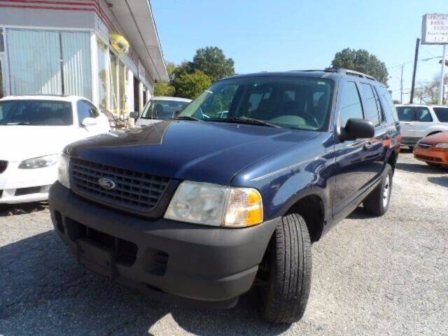 2003 Ford Explorer for sale at Specialty Bank Liquidators in Greensboro NC