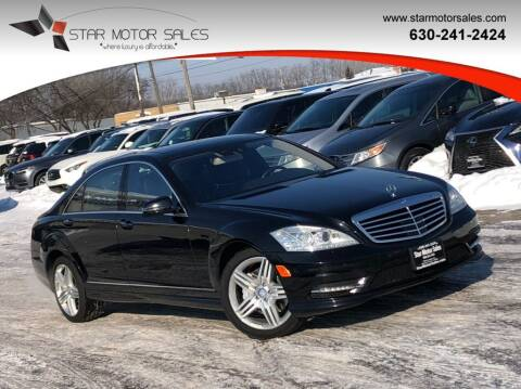 2013 Mercedes-Benz S-Class for sale at Star Motor Sales in Downers Grove IL