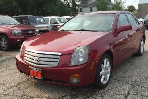 2005 Cadillac CTS for sale at Knowlton Motors, Inc. in Freeport IL