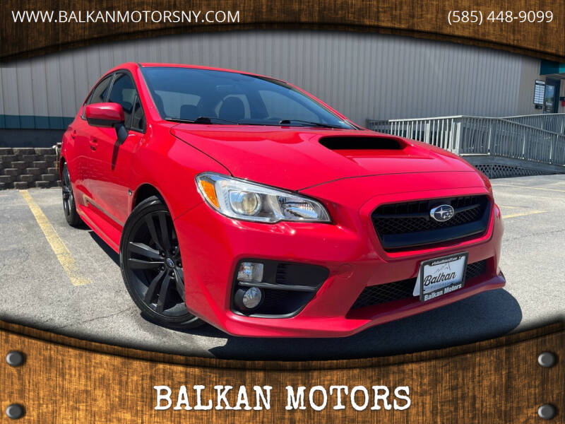 2017 Subaru WRX for sale at BALKAN MOTORS in East Rochester NY