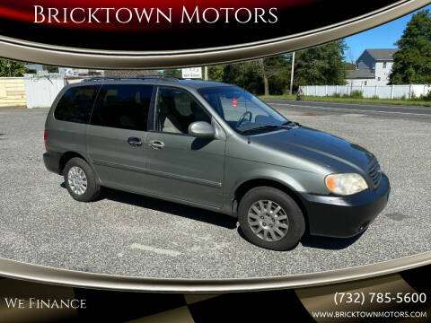 2003 Kia Sedona for sale at Bricktown Motors in Brick NJ