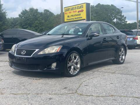 2009 Lexus IS 250 for sale at Luxury Cars of Atlanta in Snellville GA