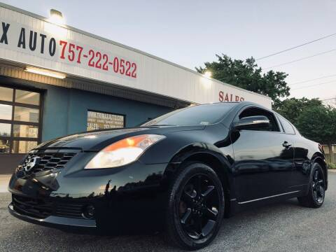 2008 Nissan Altima for sale at Trimax Auto Group in Norfolk VA