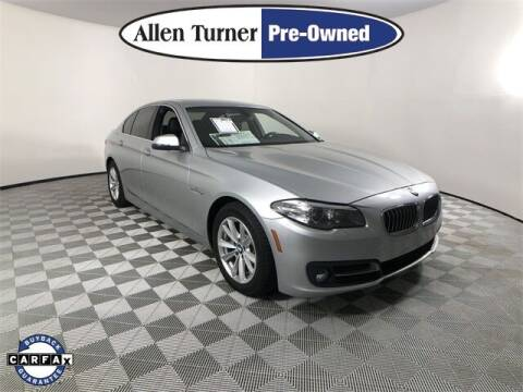 2016 BMW 5 Series for sale at Allen Turner Hyundai in Pensacola FL