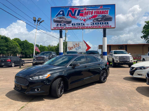 2013 Ford Fusion for sale at ANF AUTO FINANCE in Houston TX