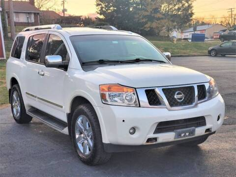 2011 Nissan Armada for sale at ANZ Auto llc in Fredericksburg VA