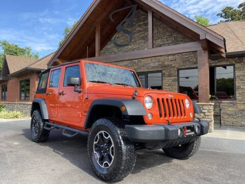 2015 Jeep Wrangler Unlimited for sale at Auto Solutions in Maryville TN