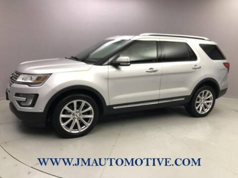 2017 Ford Explorer for sale at J & M Automotive in Naugatuck CT