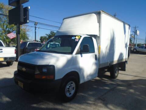 2014 Chevrolet Express Cutaway for sale at BAS MOTORS in Houston TX